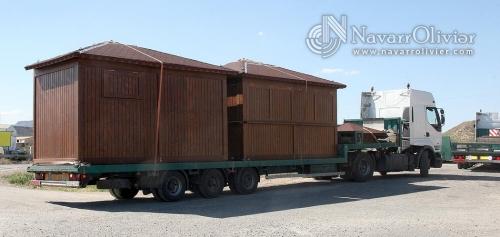 Rumbo a Castelldefels - Transporte Chiringuito Modular