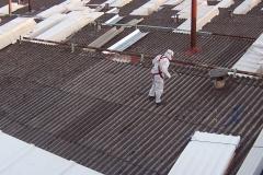 Retirada de uralita en cubiertas