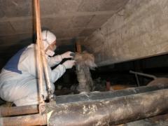 Toma de muestras y analisis de materiales sospechosos de contener amianto