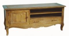 Mueble de televisión 130 roble envejecido. estilo vintage francés.