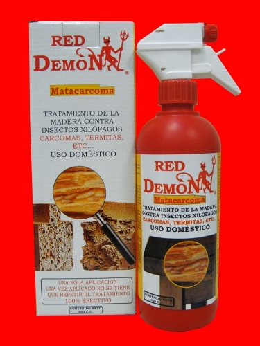 Tratamiento Carcoma Red Demon 500CC