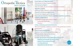 Servicios ortopedia t�cnica ruiz collado