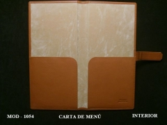 Carta de Menú , Interior