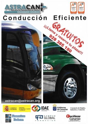 Cursos de Conducción Eficiente de Vehículos Industriales