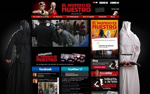 Web oficial de la película