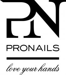 Nueva imagen de professionails, ahora pronails. www.pronails.com
