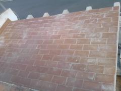Colocacion de techo en terraza