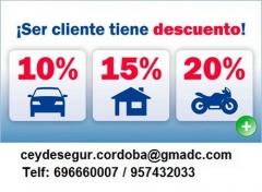 Foto 16 seguros en Córdoba - Seguros axa Cordoba , Ceydesegur Asesores, Seguros de Hogar, Coches, Motos, Empresa