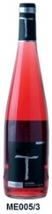 Rosé wine d.o.navarra   a young wine, 12.5 degrees.  made with garnacha grapes.  a typical rosé of n
