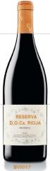 Reserva d.o. ca. rioja alcohol: 13.5 % vol. total acidity: 5.6 g/l. harvest date: 2nd  week of octob
