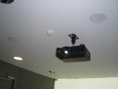 proyector en techo.