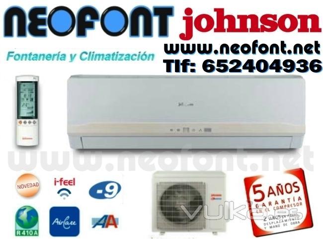 Aire acondicionado alicante neofont for Aire acondicionado johnson precios