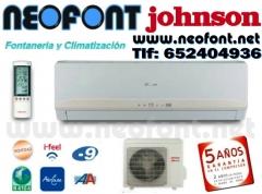 Aire acondicionado split johnson 2150 f/h, clase a, por solo 229eur
