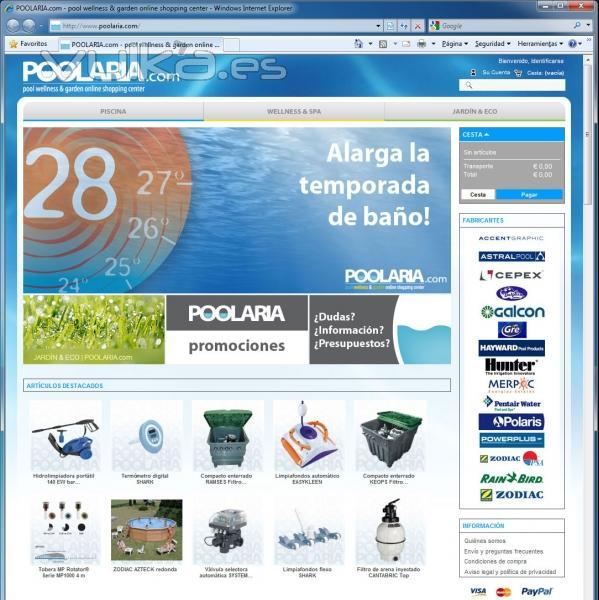 POOLARIA.com | Tienda Piscinas Online