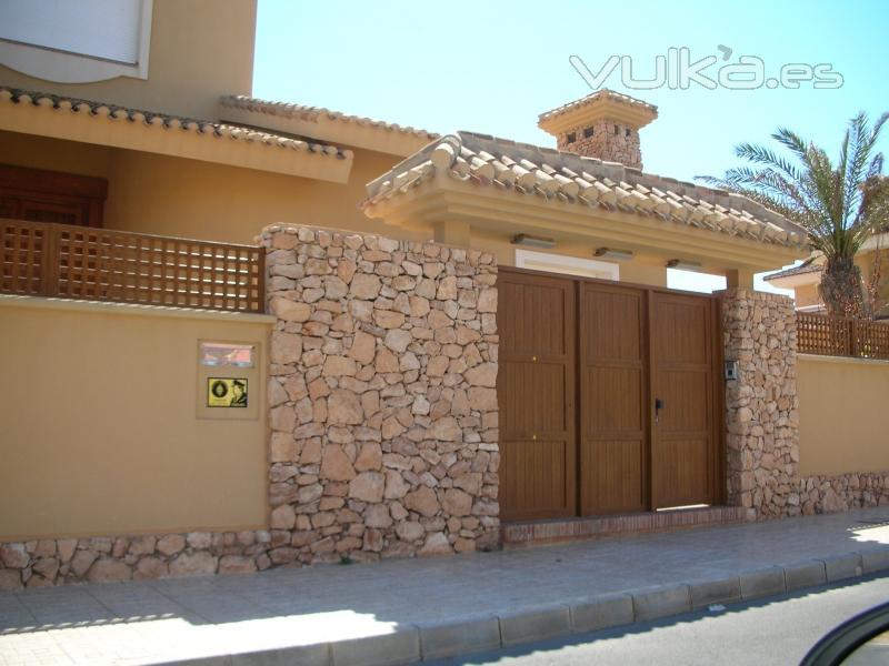 Foto puertas de jardin - Puertas de jardin ...