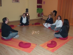 Charla después de la meditación