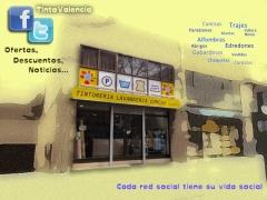 Visita nuestras redes sociales. b�scanos: tintovalencia