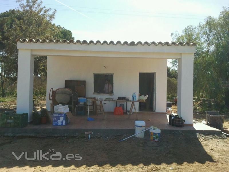 Foto construcci n completa de casa de campo - Construccion casas de campo ...
