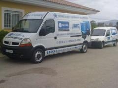 Servicios de montaje de compresores e instalaciones, reparacion, mantenimiento tambien a domicilio