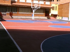 Pistas de padel, tenis, baloncesto, multideporte, etc. varias calidades.