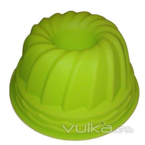 Foto moldes de silicona de varios colores y formas para - Moldes de silicona para horno ...