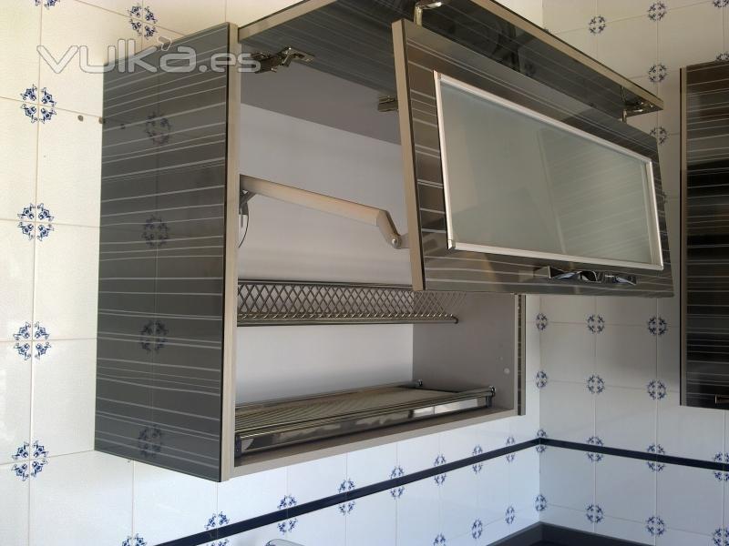 Carpinteria barrax s l for Armario platero cocina