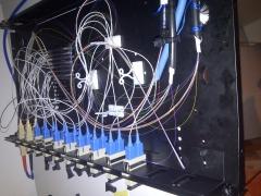 Bandeja de fibra optica