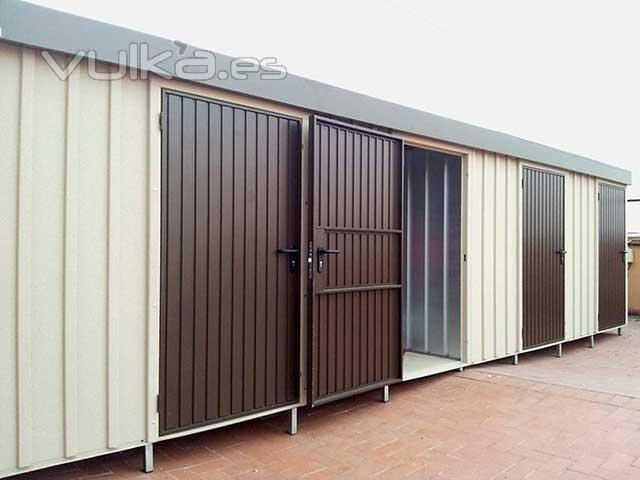 Foto trasteros modulares de terraza for Trasteros para terrazas