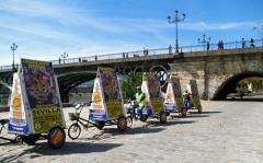 Triciclos_publicitarios_grupo_benjusol_con_gran_circo_royal_en_sevilla