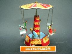 Colecciolandia.com ( tienda de juguetes de hojalata ) noria de hojalata