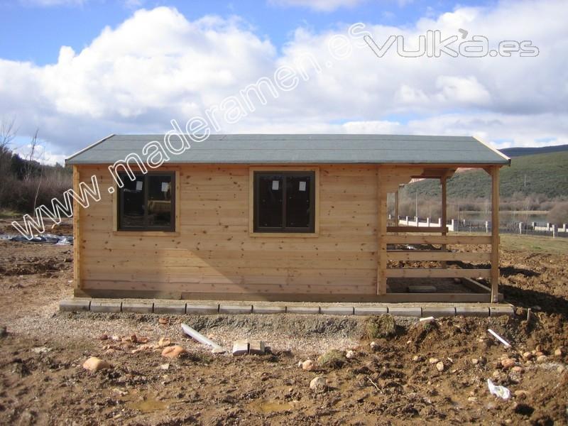 Foto de maderamen estructuras y casas en madera s l foto 3 - Casas estructura de madera ...
