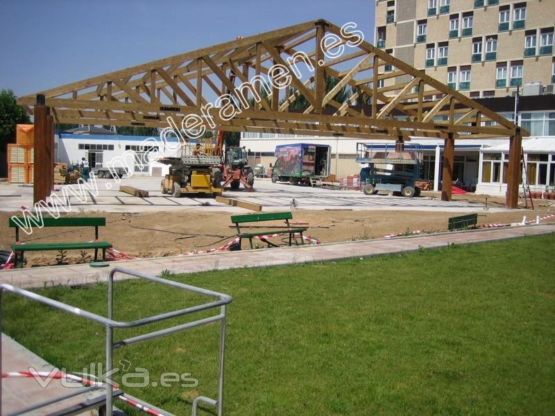 Foto de maderamen estructuras y casas en madera s l - Casas estructura de madera ...