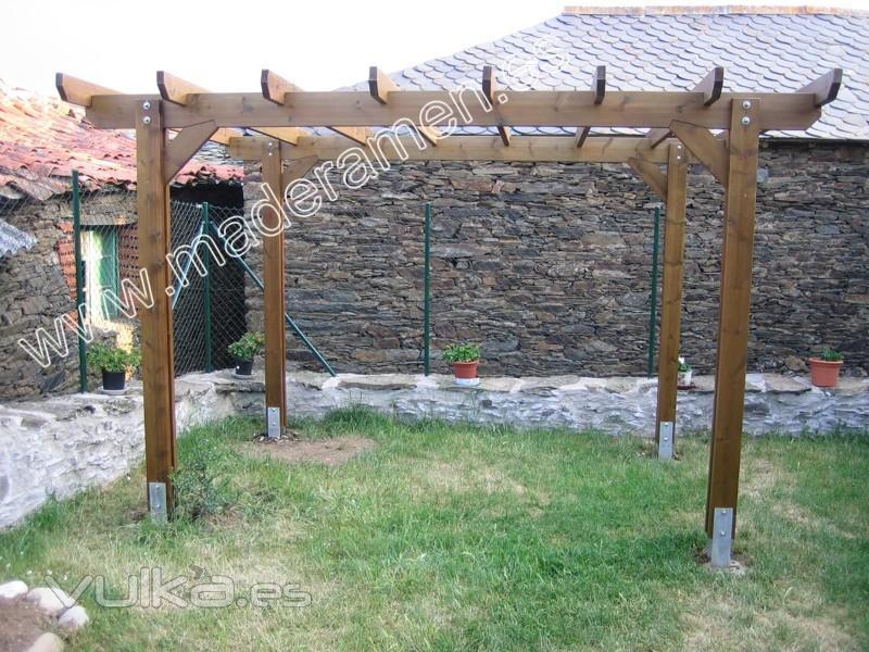 Maderamen estructuras y casas en madera s l - Estructuras casas de madera ...