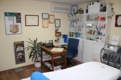 Gabinete de estética belleza jover - vista recepción y cabine