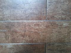 Plaquetas de imitaci�n a madera.
