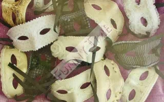 Mascaras venecianas para bodas.