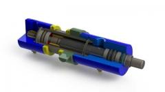 Cilindro hidr�ulico doble efecto