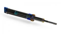 Cilindro hidr�ulico telesc�pico