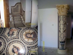 Colocación y venta de mosaicos