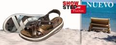 nueva coleccion de fluchos, sandalias y zapatos para hombre y mujer