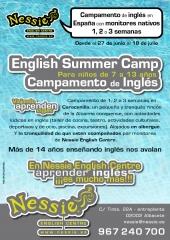 English summer camp 2012