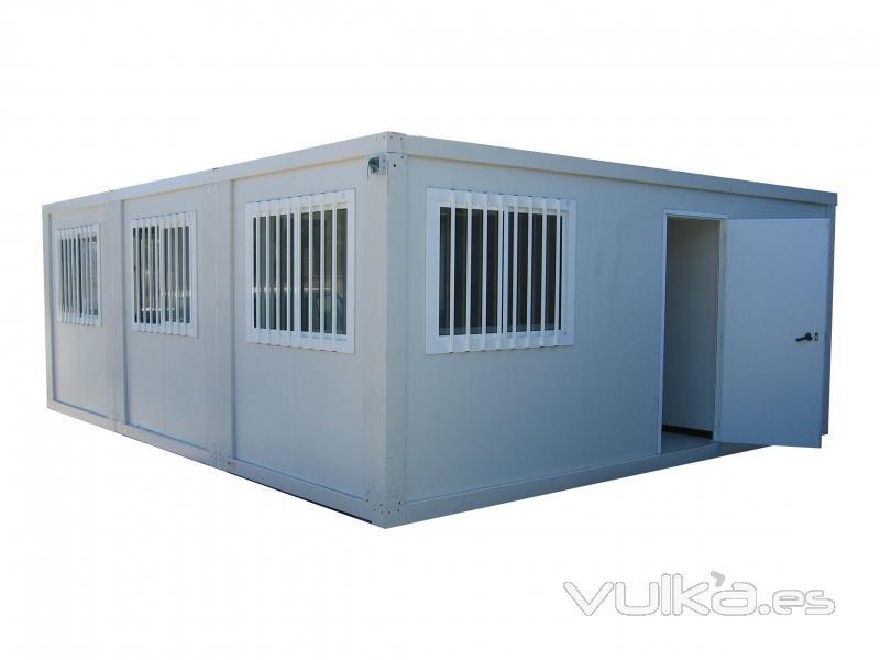 Predes construcciones modulares prefabricadas for Modulos oficinas prefabricados