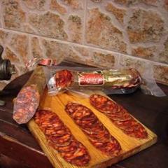 Chorizo cular ibérico bellota de eusebio