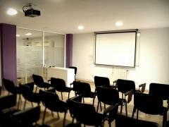 Sala de formación para grupos