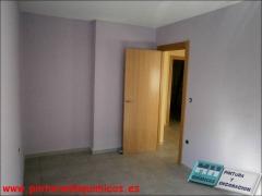 Pintura plastica mate, techo blanco y paredes color va041