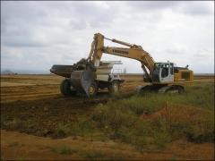Control arqueol�gico de movimiento de tierras
