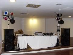 Equipo 2000 w con iluminacion para bodas