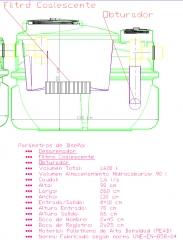 Separador de hidrocarburos clase i (< 5 ppm), con obturador