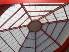 Cubierta de policarbonato Edificio Espacio Fisac (Daimiel)