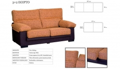 Sofas 2 y 3 plazas baratos